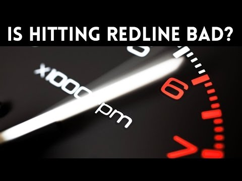 Is It BAD To Redline Your Car's Engine ???