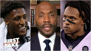 Michael Thomas is a better WR than DeAndre Hopkins - Louis Riddick | First Take