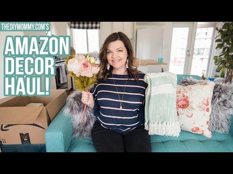 HOME DECOR HAUL | Amazon Finds