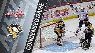 Washington Capitals vs Pittsburgh Penguins – Apr. 01, 2018 | Game Highlights | NHL 2017/18. Обзор