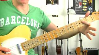 Sunshine Of Your Love - Cream Eric Clapton - Easy Guitar Lessons - Beginners Riff Tabs Tutorial