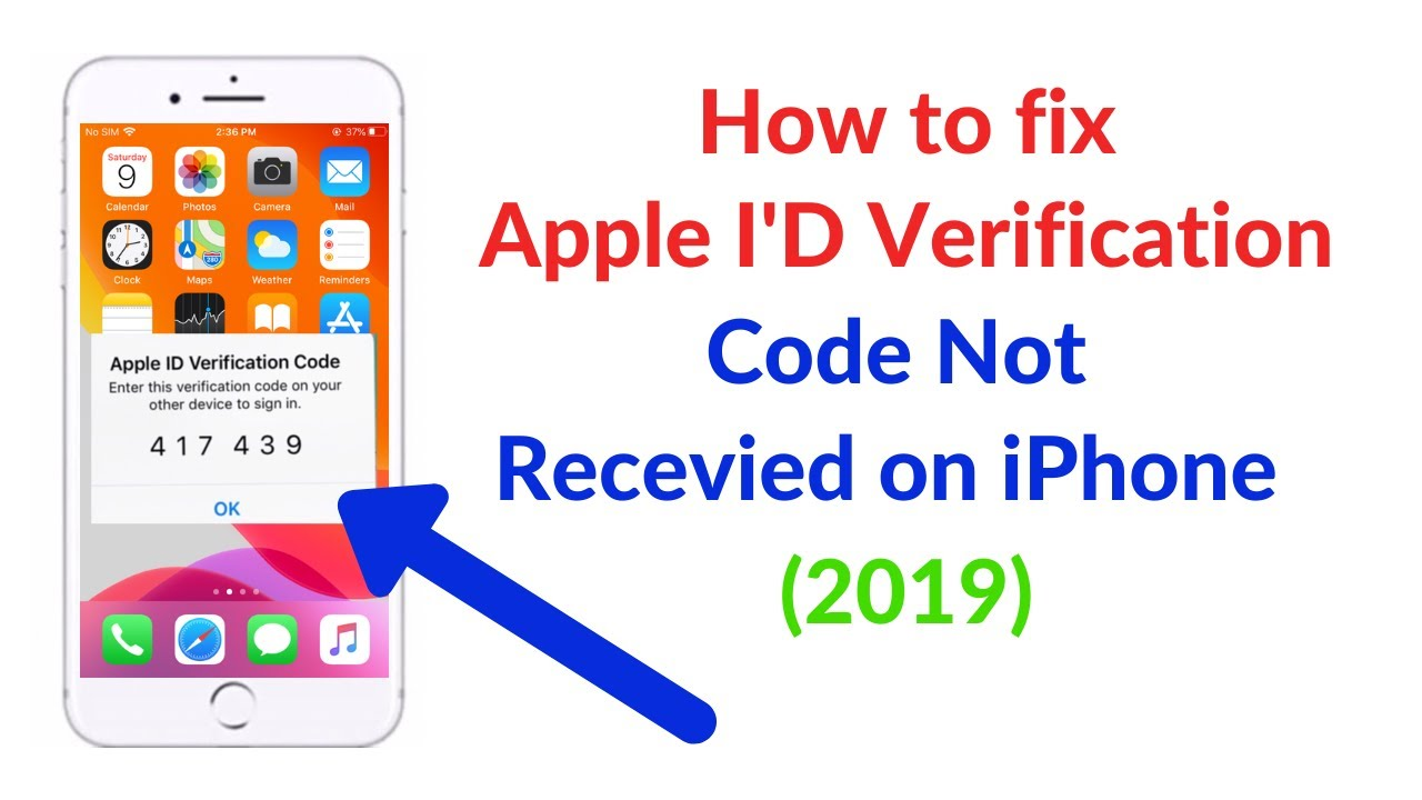 How to Get verification code to your new phone number can't get apple id  verification code fix