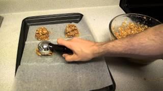 Peanut Butter Cookie No Flour No Sugar