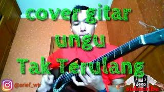 Belajar Gitar cover Ungu Tak terulang