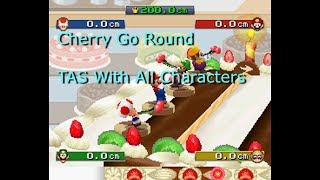 Mario Party DS - Cherry Go Round [TAS] With All Characters