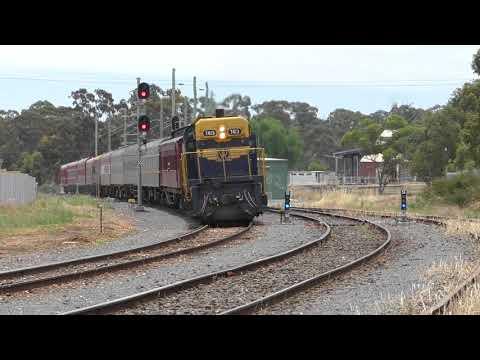 The Manangatang Farewell Broad Gauge Sleeper Train - R707 Operations Australian Trains