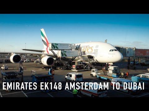 TRIP REPORT: Emirates EK148 Airbus A380 Amsterdam to Dubai