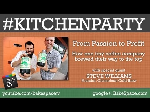 How to start a coffee company w/ Chameleon Cold Brew Coffee  #kitchenparty