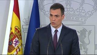 Sanchez announces general elections for April 28