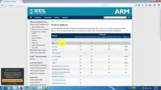 Repeat youtube video KeilC & STM32F4: Cài đặt KeilC MDK ARM