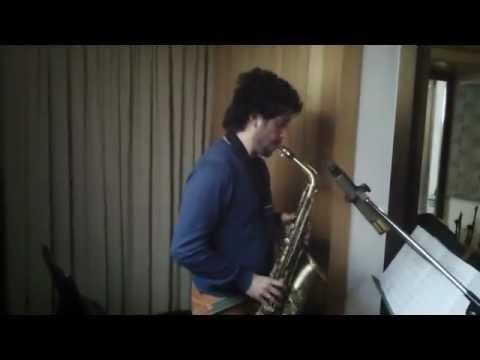 "Francesco Cafiso ""Island Blue 4et"" recording session: Milestones Old"