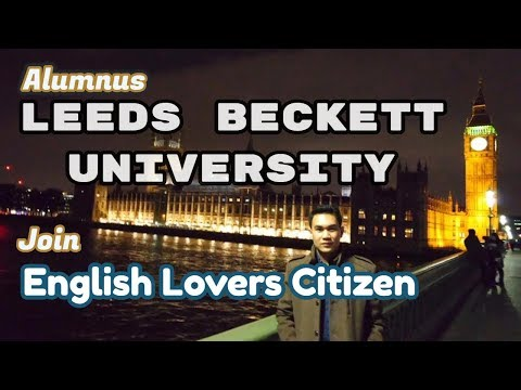 Alumnus of Leeds Beckett University Inggris join English Lovers Citizen