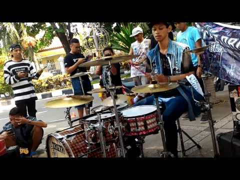 [STREET DRUM] R Wiryawan - DREAM THEATER Drum Cover - Another Won