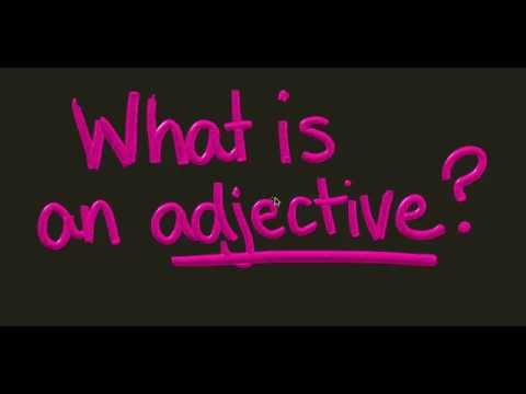 What is an Adjective