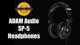 ADAM Audio STUDIO PRO SP-5 Headphones Review
