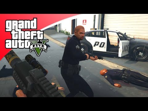 GTA V Freeroam - DE POLITIE KAN ONS NIET KRIJGEN! (GTA 5 Online)
