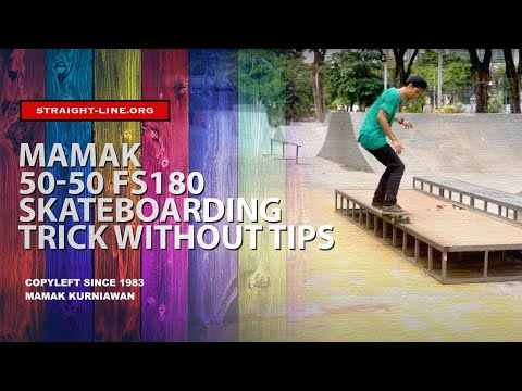 Mamak Bullshit! 50-50 Grind Frontside Out - Trick Without Tips #47