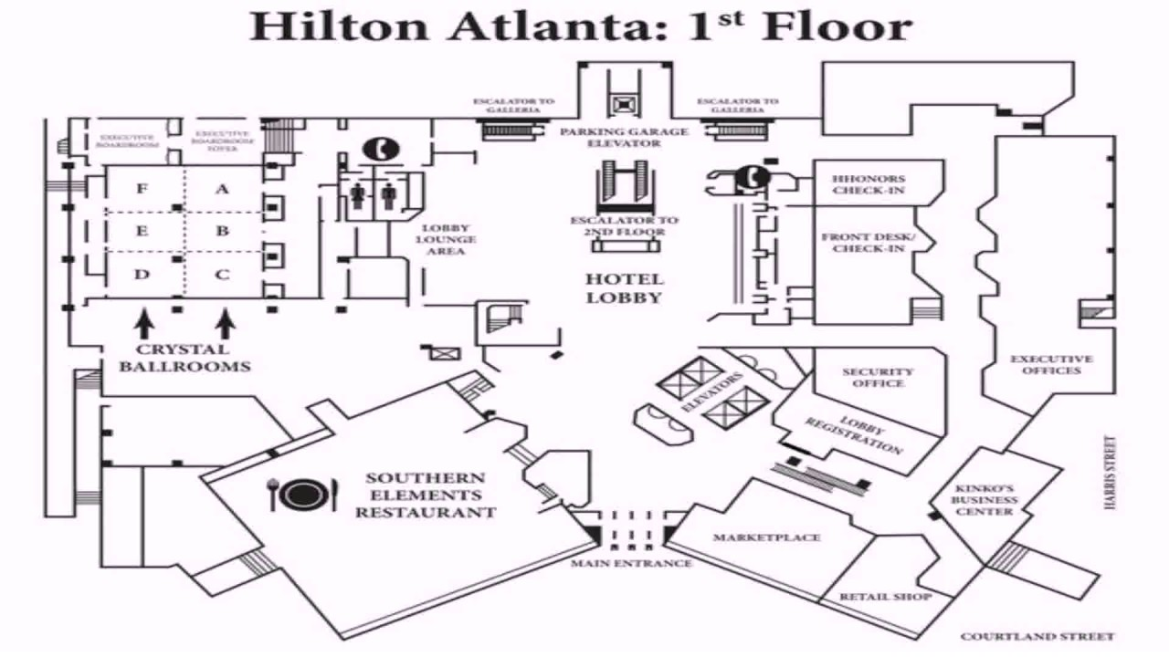Simple hotel lobby floor plan - Simple Floor Plan Images