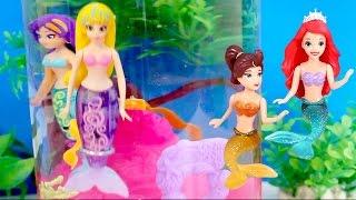 Princess Ariel & My Magical Mermaid Water Wonderland ZURU Toys Mermaids Dolls Toy Videos