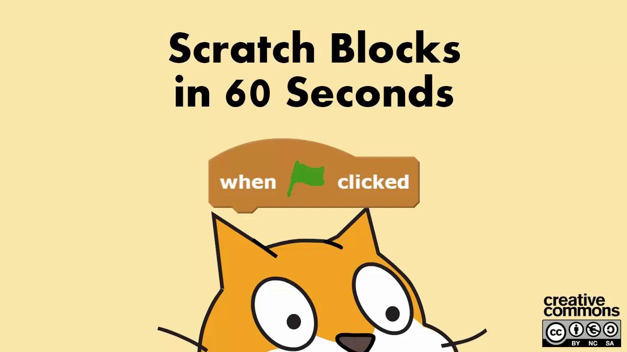 Scratch Blocks In 60 Seconds