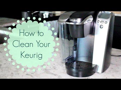 How to Clean a Keurig Coffeemaker