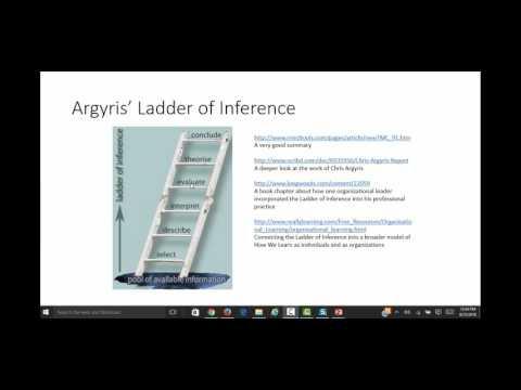 Argyris ladder of inference