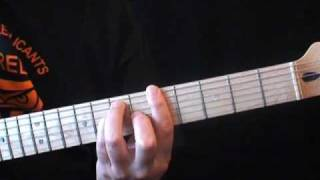MC5 - kick out the jams guitar lesson