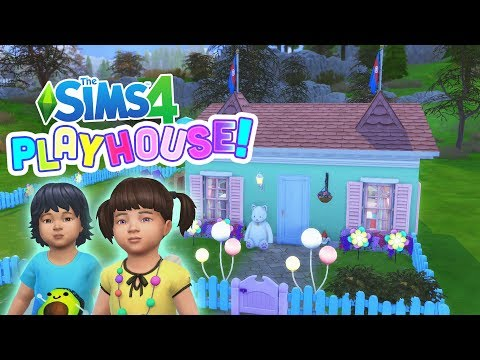 WE ARE TODDLERS! | Sims 4 - Play House Ep 1