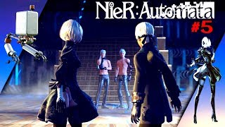 NieR: Automata[#5]ТИТАН▶АДАМ И ЕВА(сюжет)Gameplay