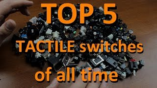 TOP 5 TACTILE mechanical keyboard switches of all time