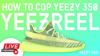 How to Cop adidas Yeezy Boost 350 V2 YEEZREEL Yeezy Supply Shock Drop How to Buy Yeezys for Retail