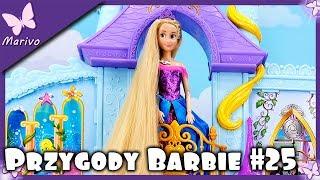 Nowy Zamek Księżniczek  Disney Princess Barbie Elsa Arielka Roszpunka  Nowe Suknie Bajka Lalki