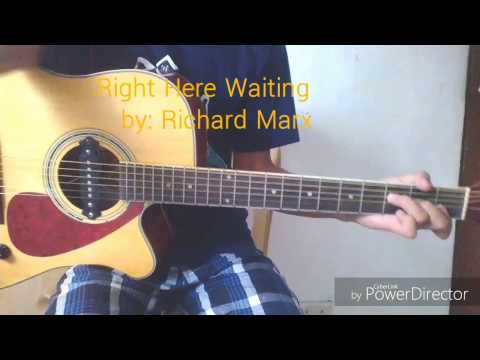 Right here waiting (fingerstyle guitar) + [TABS]