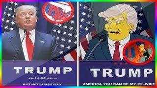 Сериал Симпсоны первые сто дней президентства Трампа
