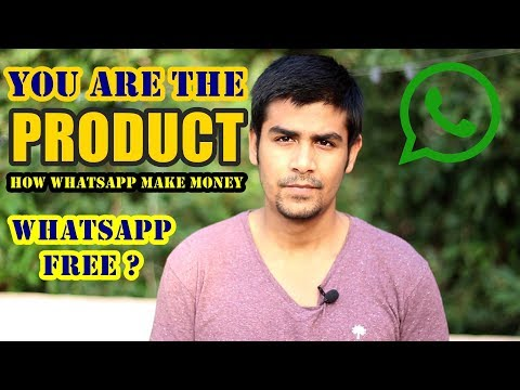 You are the Product !| How Whatsapp Make Money?