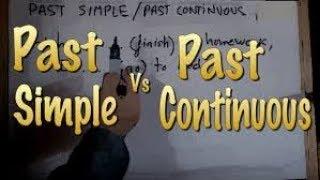 Урок 14 - Сравнение Past Continuous Tense и Past Simple Tense
