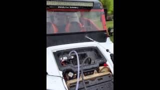 12 volt mini washer for cleaning my rzr utv sxs radiator