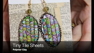 Creating A Tiny Tile Sheet with Polymer Clay and Ideas