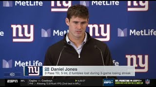 Rams def. Falcons 37-10; Cardinals def. Giants  27-21; Daniel Jones Interviews | ESPN SC