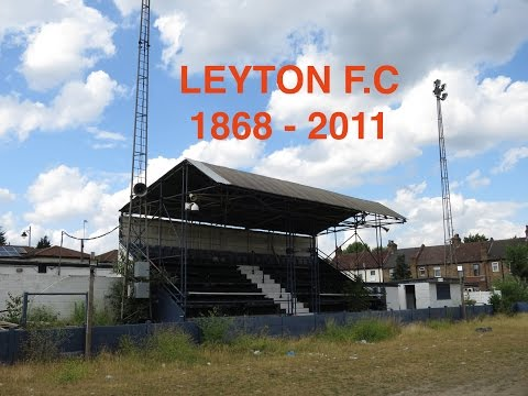 Abandoned Football Ground of Leyton FC