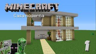 Casa Moderna #1 - Construcción en Minecraft