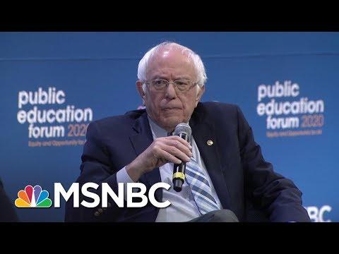 Bernie Sanders On How He Would Fix Public Education | MSNBC