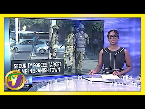 Concerns about Robberies in Spanish Town, Jamaica   TVJ News