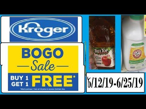 Kroger BOGO Deals--6/12/19-6/25/19