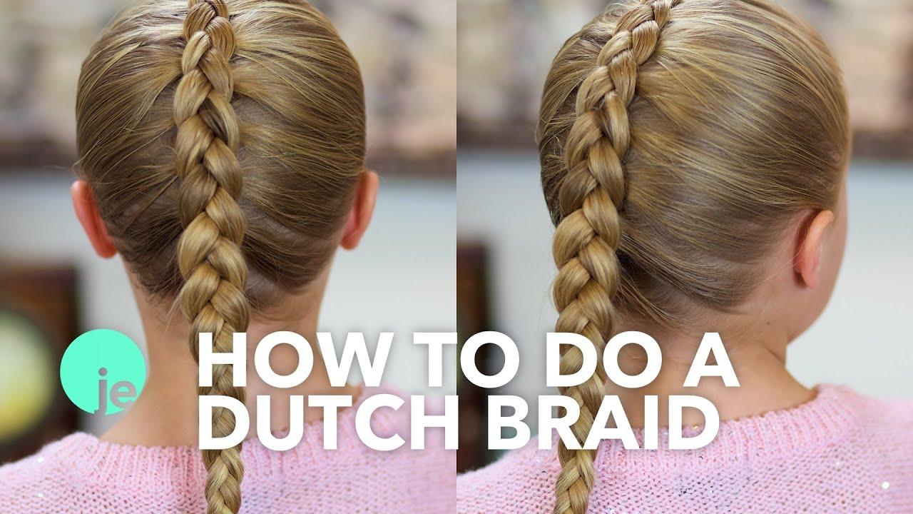How To Do A Dutch Braid Basic Braids Youtube