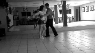 Bailando salsa en Puerto Rico 2012