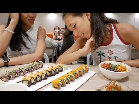 BEST VEGAN SUSHI IN NEW YORK - THE END OF BORING SUSH! 🍣🍱