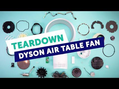 Fictiv Teardown   Dyson Air Multiplier AM06 Table Fan with Cooper Perkins