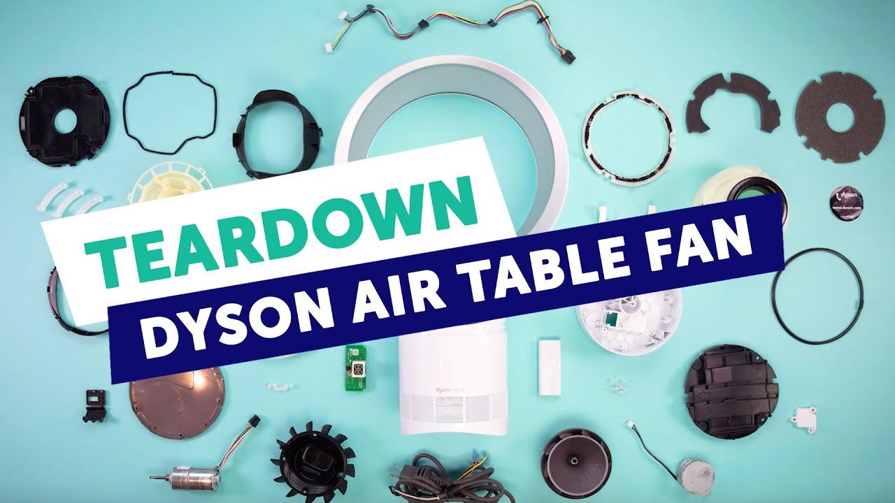 Fictiv Teardown Dyson Air Multiplier Am06 Table Fan With