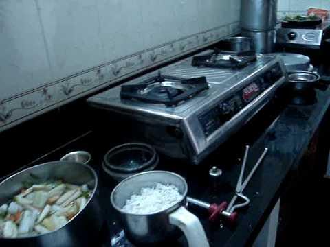 Srirangam Radhu-Avial Preparation-1